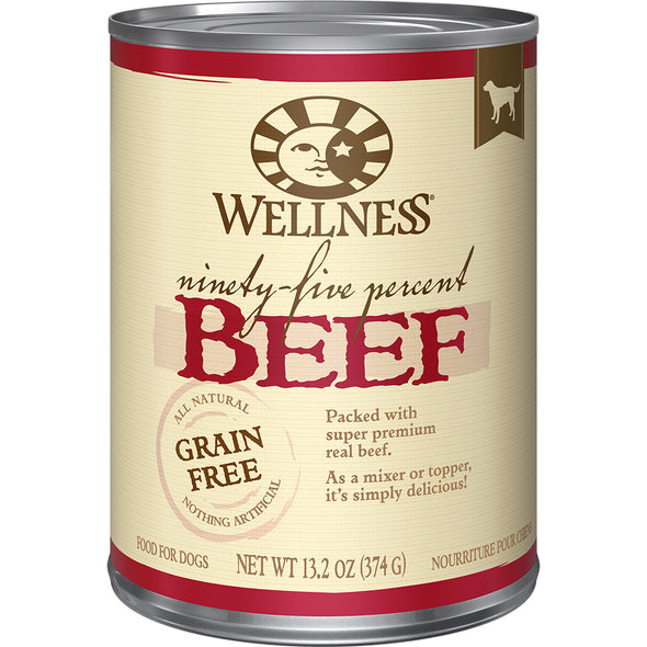 Wellness 95% Beef Mixer or Topper for Dogs *Special Order* (5784518361242)