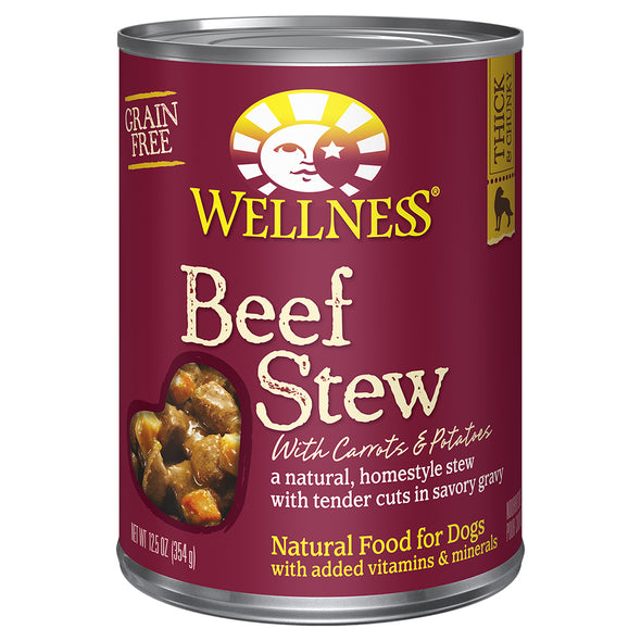 Wellness Grain Free Beef Stew Carrot & Potatos for Dogs *Special Order* (5784507285658)