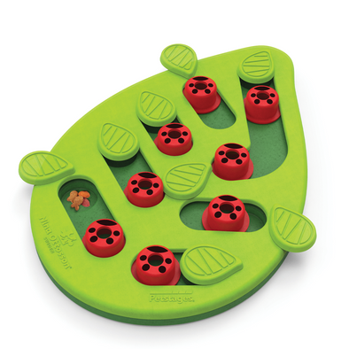 Nina Ottosson Puzzle & Play Buggin Out Green for Cats