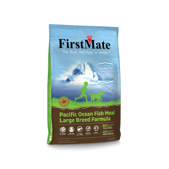 First Mate Limited Ingredient Diet Grain Free Pacific Ocean Fish Large Breed Formula *SPECIAL ORDER*