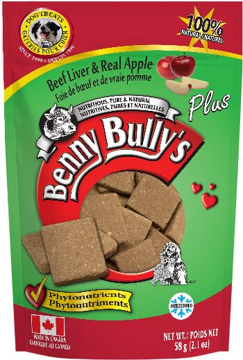 Benny Bully's Beef Liver Plus Apple Dog Treats (4789914599483)