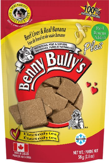Benny Bully's Beef Liver Plus Banana Dog Treats (4789997797435)