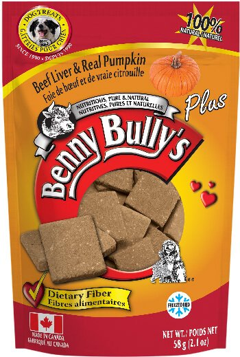 Benny Bully's Beef Liver Plus Pumpkin Dog Treats (4789912305723)