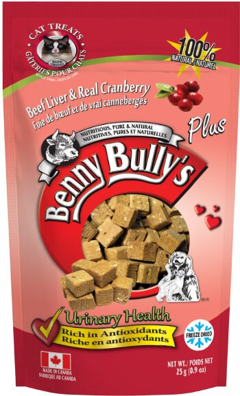 Benny Bully's Beef Liver Plus Cranberries Cat Treats (4790019424315)