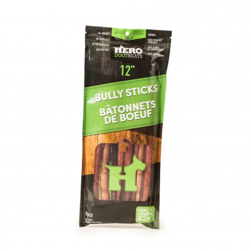 "Hero Beef Bully Stick 12"" Pack"