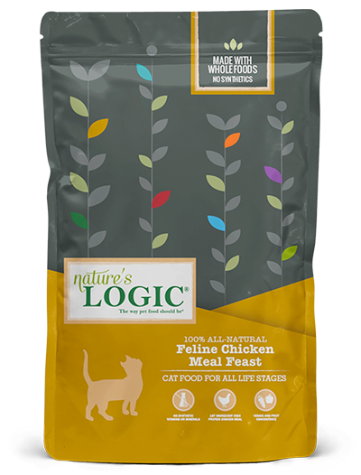 Nature's Logic Chicken Meal Feast for Cats