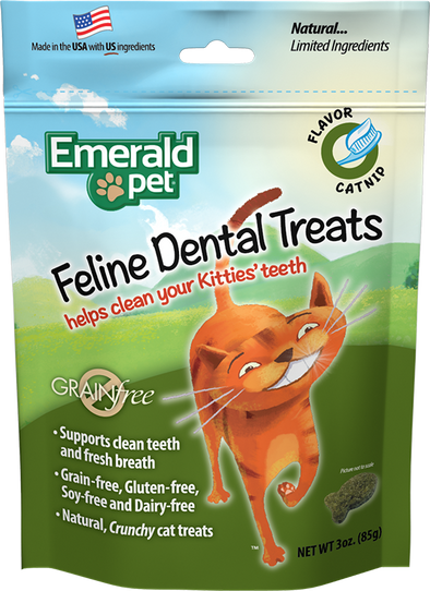 Emerald Pet Catnip Dental Treats (4834118926395)
