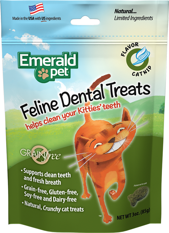 Emerald Pet Catnip Dental Treats