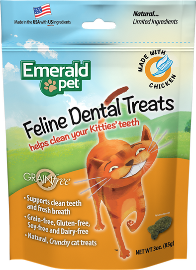 Emerald Pet Chicken Dental Treats