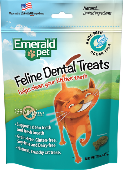 Emerald Pet Ocean Fish Dental Treats