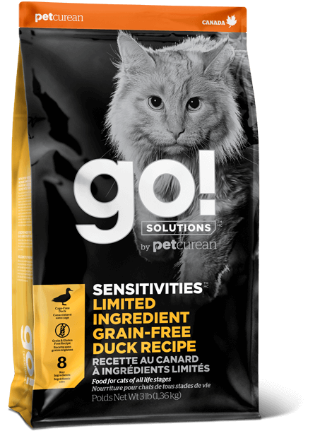 GO! Limited Ingredient Grain Free Duck for Cats (4687530819643)