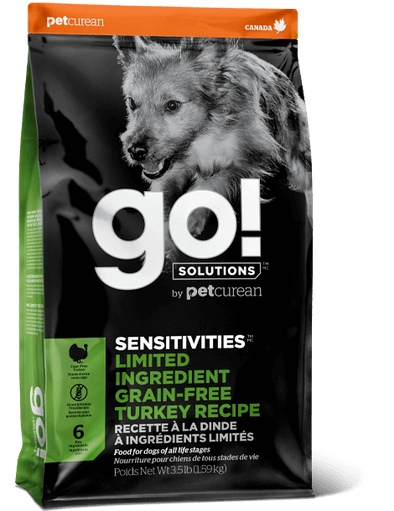 GO! Limited Ingredient Grain-Free Turkey for Dogs