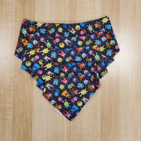 Coconut Collars Party Monsters Bandana (5787763146906)