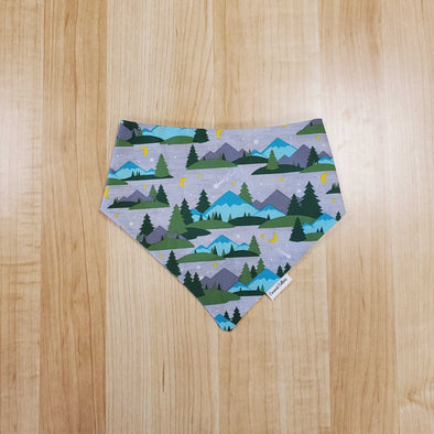 Coconut Collars Mountains Bandana (5787792998554)