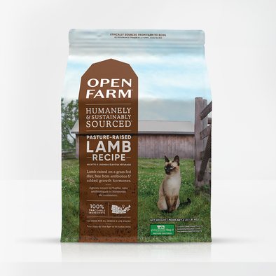 Open Farm Pasture-Raised Lamb for Cats