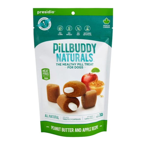 Pill Buddy Naturals Peanut Butter and Apple (4763196063803)