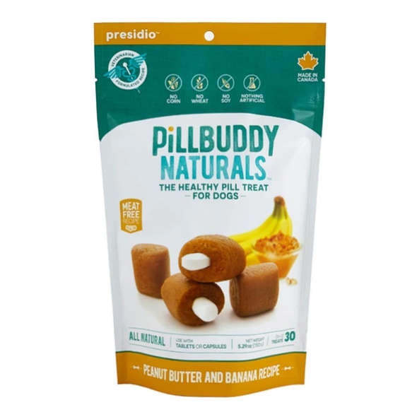 Pill Buddy Naturals Peanut Butter and Banana