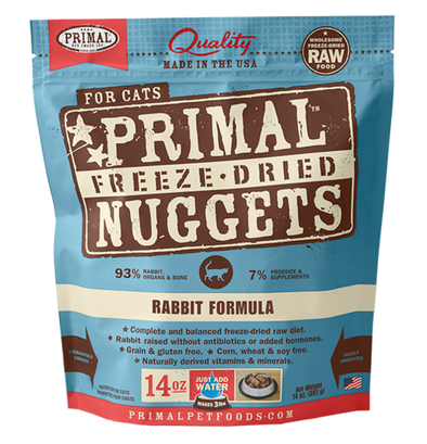 Primal Freeze-Dried Rabbit for Cats