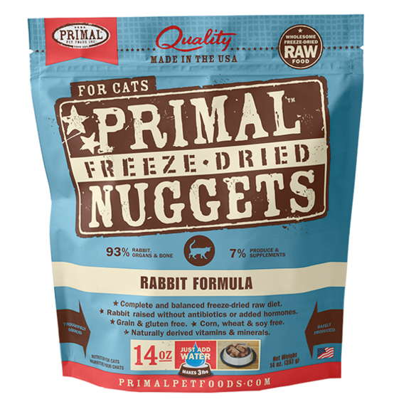 Primal Freeze-Dried Rabbit for Cats (4705187725371)