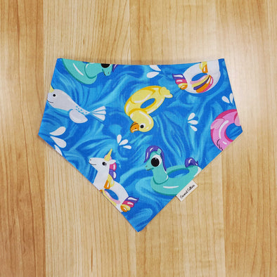 Coconut Collars Pool Floaties Bandana