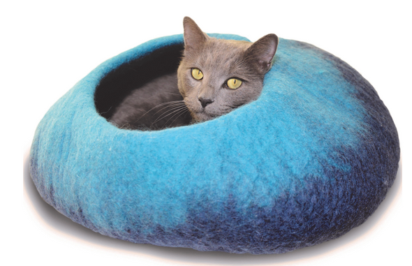 Dharma Dog Karma Cat Navy Ombre Cave (4789866364987)