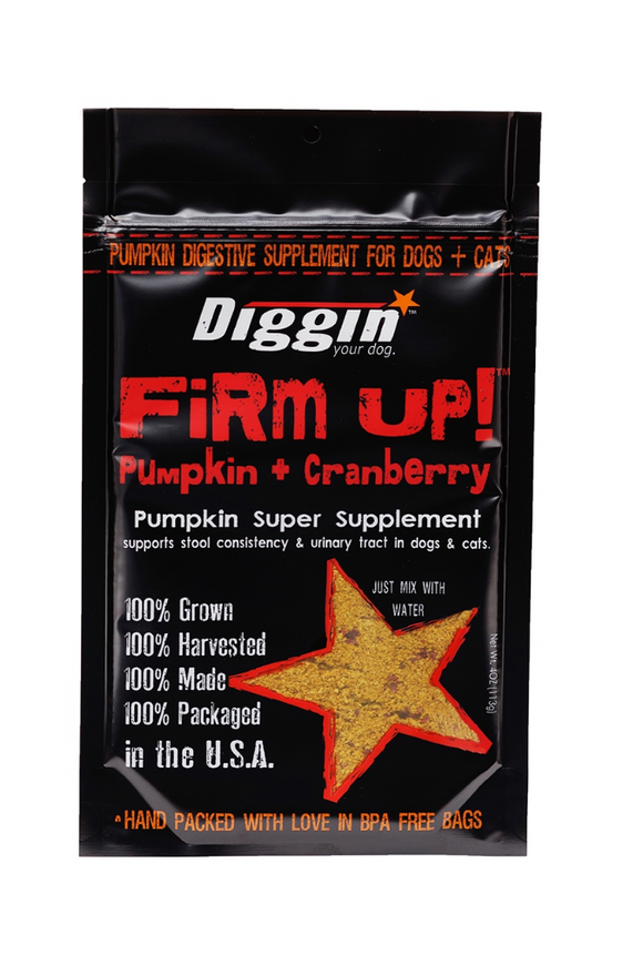 Diggin' Your Dog Firm Up! + Cranberry