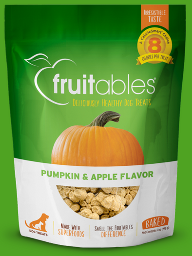 Fruitables Pumpkin & Apple Dog Treats