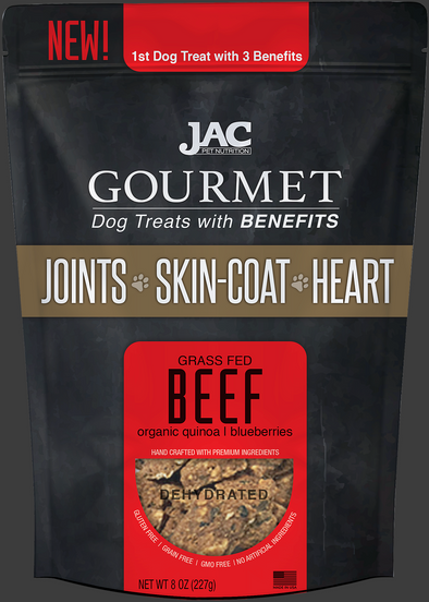 JAC Pet Nutrition Grass-Fed Beef Treats (4800892698683)