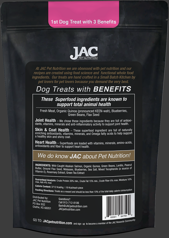 JAC Pet Nutrition Wild-Caught Salmon Treats (4800897810491)
