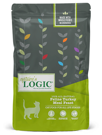 Nature's Logic Turkey Meal Feast for Cats *Discontinued- website only special**