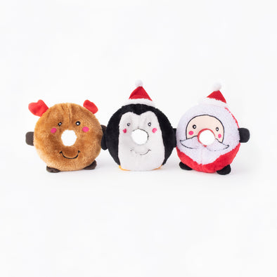 Zippy Paws Holiday Donutz Buddies (6074986397869)