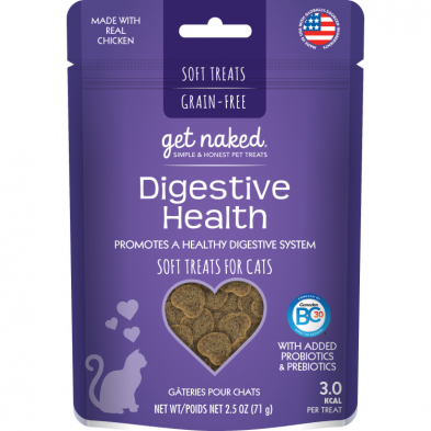 Get Naked Grain Free Digestive Health Semi-moist Cat Treat *Special Order*