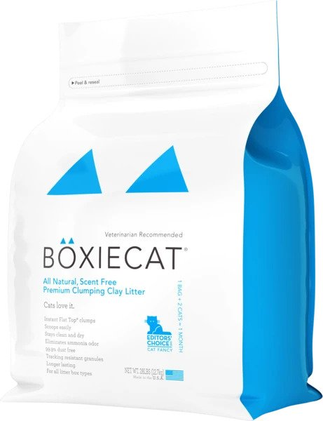 Boxiecat Scent-free Premium Clumping Clay Cat Litter *Special Order* (4908304367675)
