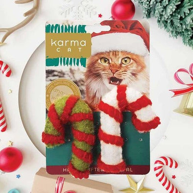 Dharma Dog Karma Cat Candy Cane 2 pack (6047691899053)