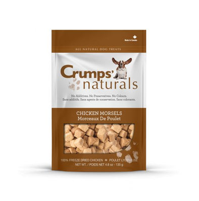 Crumps Freeze Dried Chicken Morsels Dog Treats