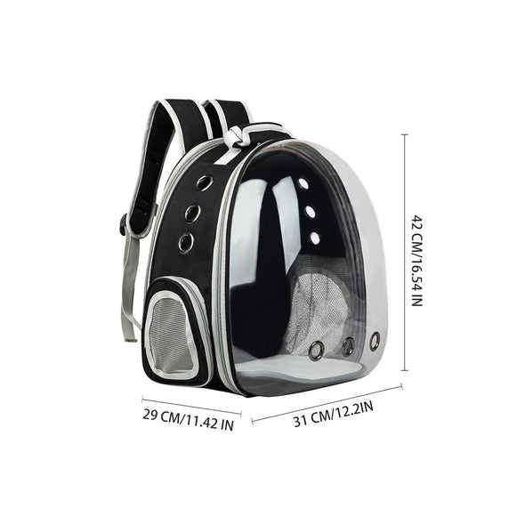 Pet Dome Backpack with Extension