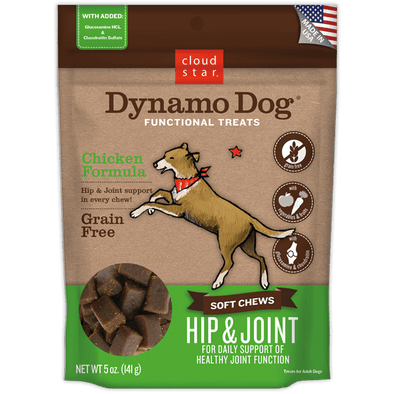 Cloud Star Dynamo Dog Hip & Joint: Chicken