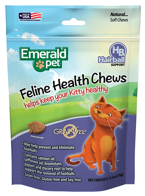 Emerald Pet Hairball Support Health Chews