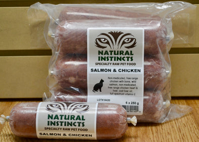 Natural Instincts Salmon & Chicken for Cats (4746558341179)