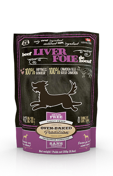 Oven Baked Tradition Beef Liver Dog Treats