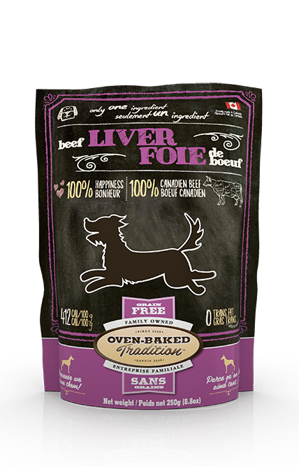 Oven Baked Tradition Beef Liver Dog Treats (4800991395899)