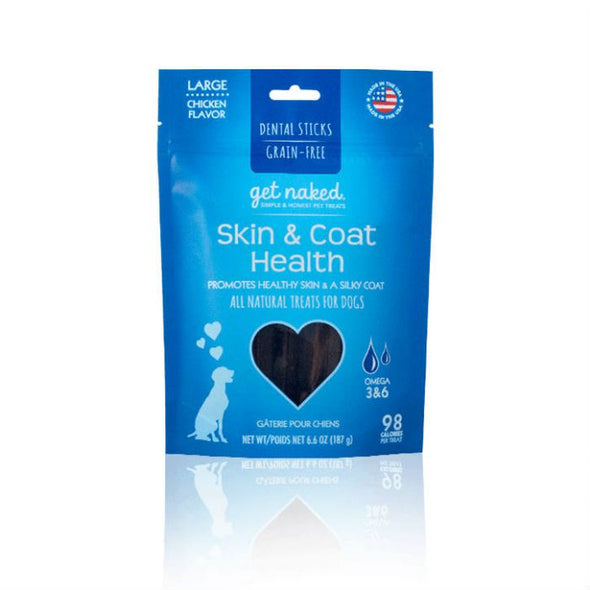 Get Naked Skin & Coat Health Dental Sticks *Special Order* (4820152516667)