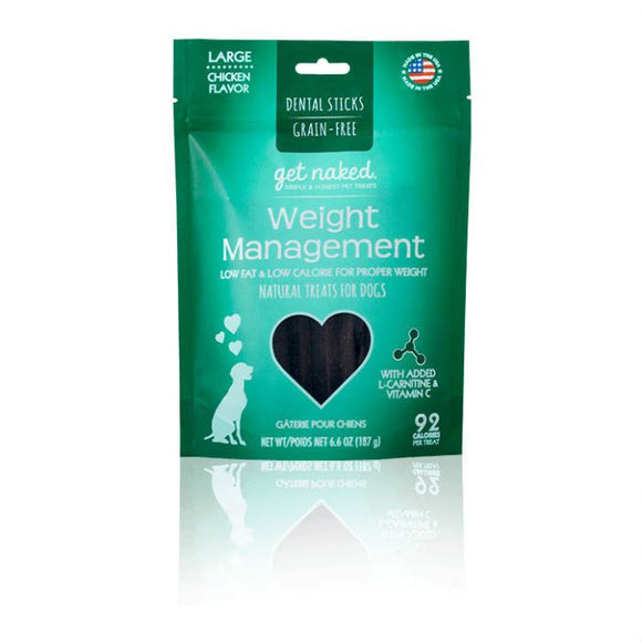 Get Naked Weight Management Dental Sticks