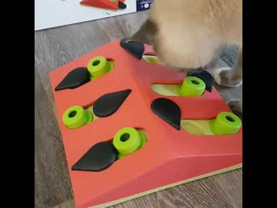 Nina Ottosson Puzzle & Play Melon Madness Pink for Cats