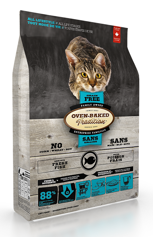 Oven Baked Tradition Grain Free Fish for Cats