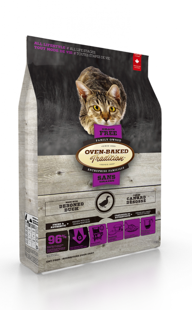 Oven Baked Tradition Grain Free Duck for Cats