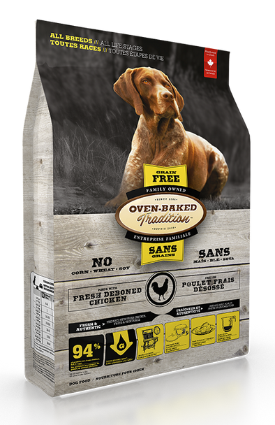 Oven Baked Tradition Grain Free Chicken for Dogs
