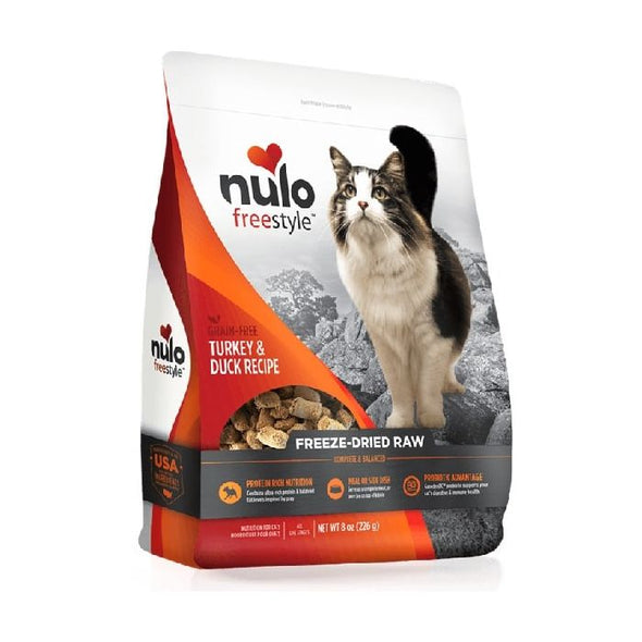 Nulo Freestyle Freeze-Dried Raw Turkey & Duck for Cats