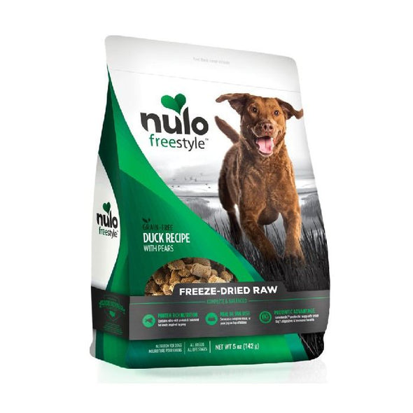 Nulo Freestyle Freeze-Dried Raw Duck with Pears for Dogs (5662364893338)