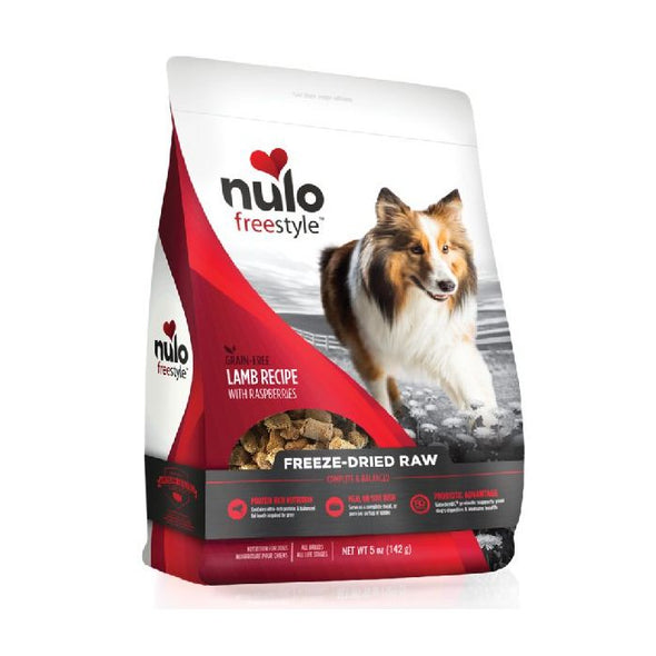 Nulo Freestyle Freeze-Dried Raw Lamb with Raspberries for Dogs (5662389076122)